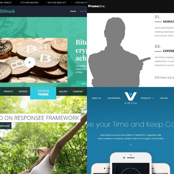 Free Bootstrap, CSS3 and HTML5 E-Commerce and Shop themes and templates for websites.