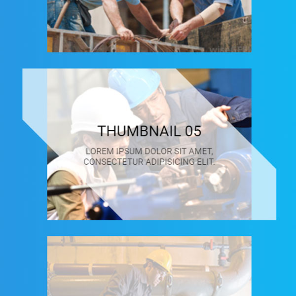 Multiple Effects for HTML Thumbnails