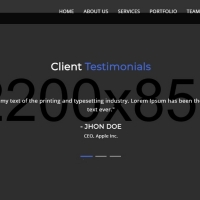Biziness is an advanced one page template with professional features.