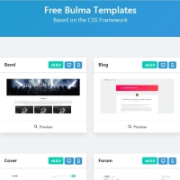 Bulam is a collection of website templates for various purposes.