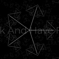 In this code we have a black and white background. There are shapes on this background. Clicking on the background will change these shapes and create . . .