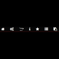 This is a dark-themed menu with menu items marked with icons, and each icon rotates to red in hover mode. In addition, this code is pure CSS and does . . .