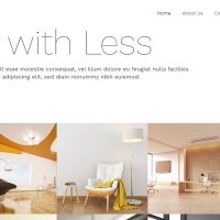 Minimalista is a simple template for designing a beautiful website.