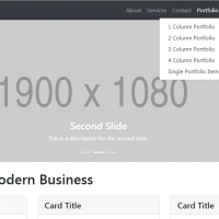 Modern Business is HTML full featured template with lots of pages.