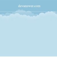In this code we have clouds that are moving at the top of the page. This code is very suitable for children or airline website backgrounds.