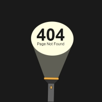 With the help of the movement of the light of a flashlight in this code, the phrase page 404 is displayed. The background of this code is black and the . . .