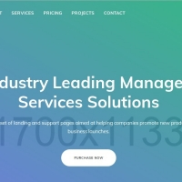 Rapoo is a full features corporate template for companies websites.
